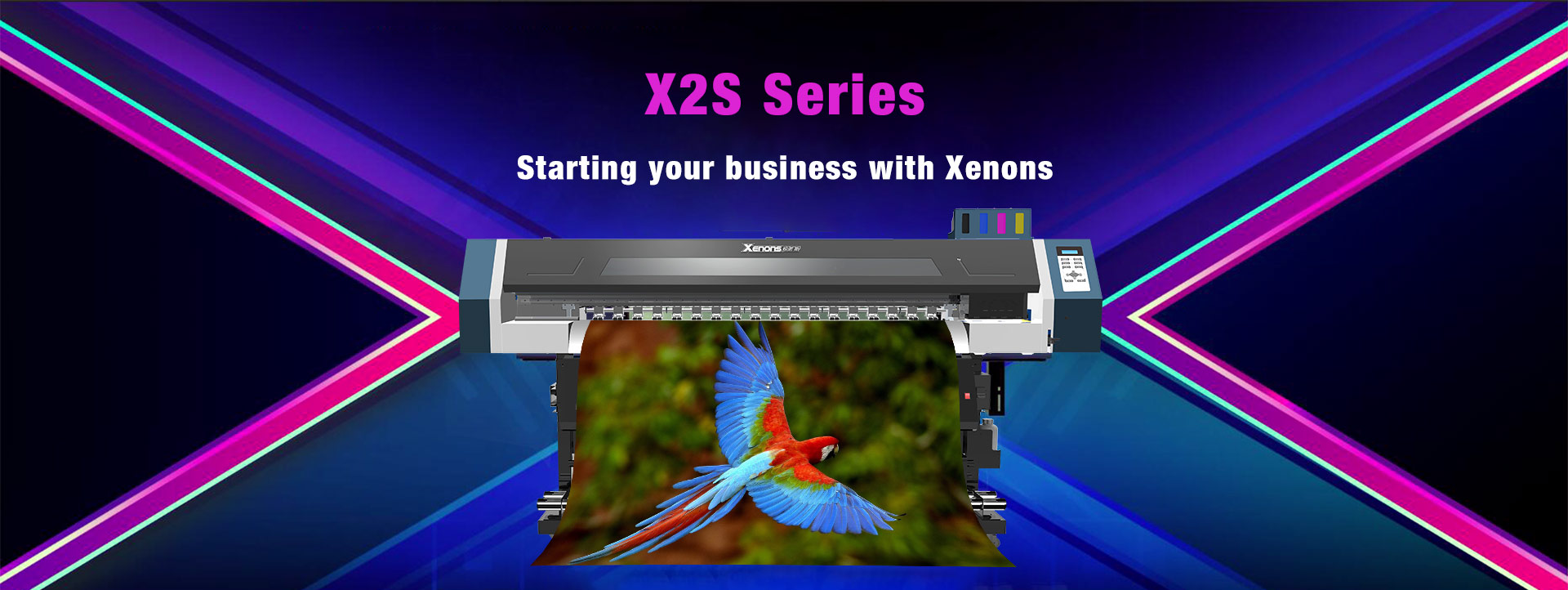 Xenons-eco solvent printer